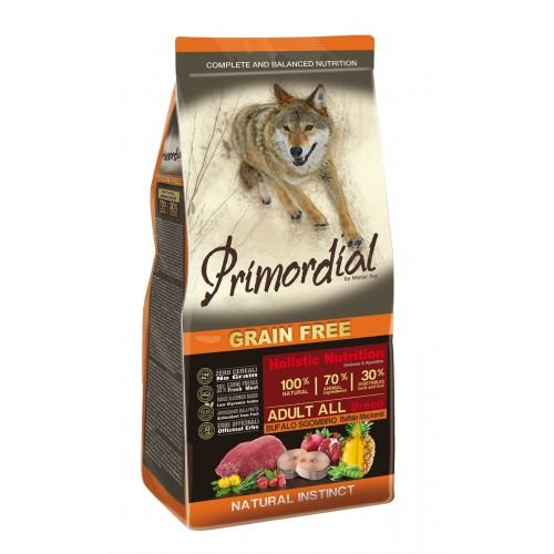 Primordial Adult Buffalo&Mackerel д/взрослых собак с буйволом и скумбрией 12кг