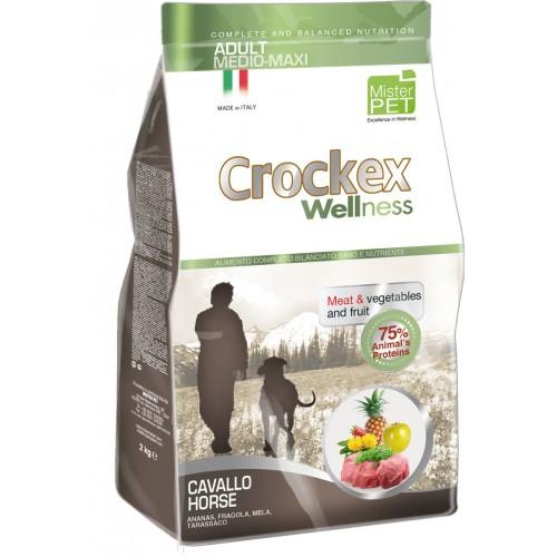 Crockex Adult Horse&Rice д/взрослых собак средних и крупных пород с кониной и рисом 12кг
