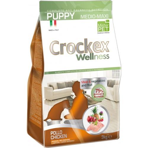Crockex Puppy Chicken&Rice д/щенков средних и крупных пород с курицей и рисом 12кг